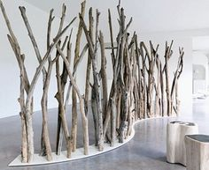 Room divider. I have seen this in a cafe in SanFransisco...very cool!