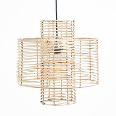 Shop for Cyndi Rattan Pendant Light. Get free delivery On EVERYTHING* Overstock - Your Online Ceiling Lighting Store! Rattan Pendant Light, Diy Pendant Light, Drum Pendant, Pendant Light Fixtures, Lantern Pendant, Ceiling Fixtures, Pendant Lighting, Bungalow, Brown Decor