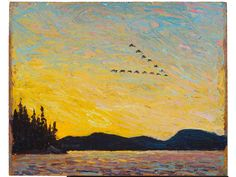 Tom Thomson Round Lake, Mud Bay, fall 1915 The Art Gallery of Ontario