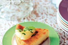 Kijk wat een lekker recept ik heb gevonden op Allerhande! Witte chocolade-perencheesecake