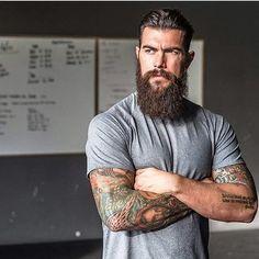 Beards. Men. Ink. Dave Driskell.