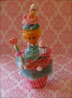 Marie Antoinette Cupcake Limited Edition Doll by 12LegsCuriosities