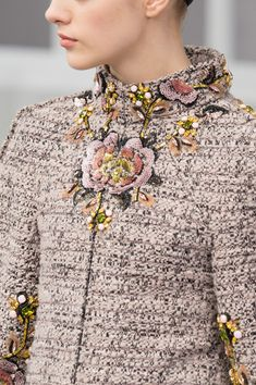 Chanel at Couture Fall 2016 - Details Runway Photos