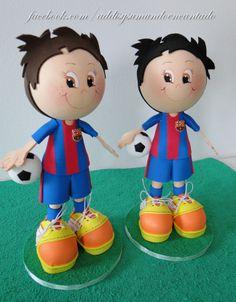 Fofuchos del Barça.