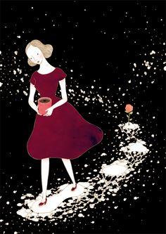 The Lovely Illustrations of Hana Jang