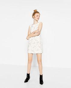 Image 1 of CONSTELLATION PRINT DRESS from Zara
