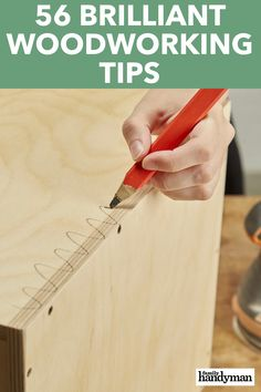 Small Woodworking Projects 56 Brilliant Woodworking Tips.Small Woodworking Projects 56 Brilliant Woodworking Tips Awesome Woodworking Ideas, Best Woodworking Tools, Woodworking Joints, Woodworking Patterns, Woodworking Supplies, Woodworking Workbench, Woodworking Workshop, Easy Woodworking Projects, Woodworking Techniques