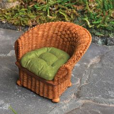 Brown Wicker Chair  Price $5.49