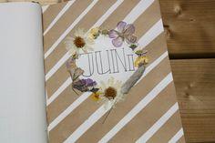 Bullet journal #5 - Juni Juni, Bullet Journal, Dreams, Blog, Handmade, Hand Made, Blogging, Handarbeit