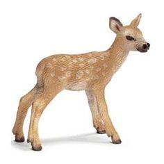 Schleich Red Deer Calf Figure
