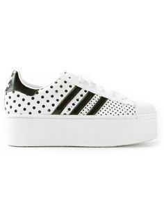 ADIDAS ORIGINALS - superstar 2 platform up ef polka dots sneakers 5 NEED WANT LOVE