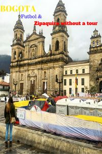 Bogota, Futbol & Getting to Zipaquira Without a Tour - Hit The Road Map