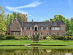 The Lewis V. Luckenbach estate designed by William Lawrence Bottomley c. 1928 in Glen Cove