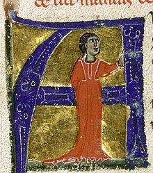 Azalais de Porcairagues (also Azalaïs) or Alasais de Porcaragues was a trobairitz (woman troubadour), composing in Occitan in the late 12th century. Azalais from a 13th-century chansonnier now in the Bibliothèque nationale de France.