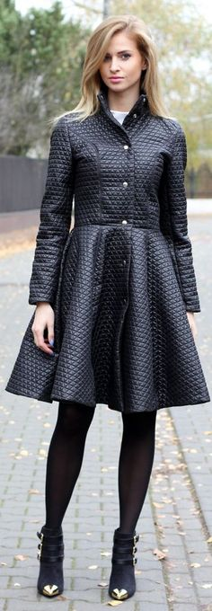 #Black #Coat by Beauty - Fashion - Shopping