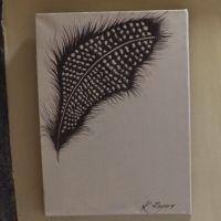 Brown Feather Art