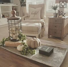 I love the light and airy feel of this decor. One day....once the kids are gone....
