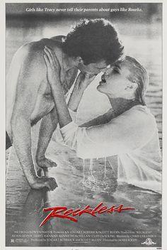Reckless (1984) Stars: Aidan Quinn, Daryl Hannah, Kenneth McMillan, Cliff De Young, Jennifer Grey, Lois Smith, Adam Baldwin  ~ Director: James Foley