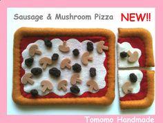 ETSY  Pretend food Felt food play food  How to by TomomoHandmade, $24.50
