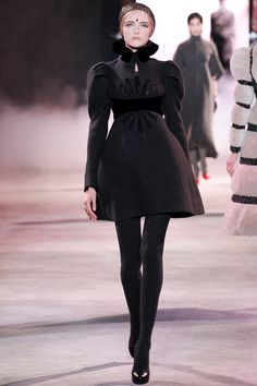 Ulyana Sergeenko | Fall 2013 Couture Collection | Vlada Roslyakova Modeling | Style.com