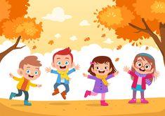 Farm Cartoon, Cartoon Kids, Kids Vector, Children Images, Displaying Collections, Happy Kids, Getting Things Done, Preschool Activities, Teaching Kids