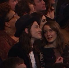 James Bay and Lucy Smith