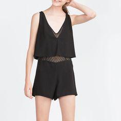 Zara black jumpsuit Brand new with tag. True to size Zara Other