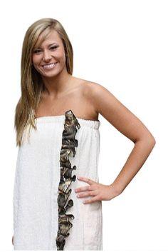 30a2d28a74 Realtree Spa Wrap Plus Size 1X 2X Swimsuit Cover Up – Camo Chique Camo  Swimsuit,