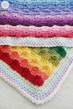 Ravelry: Chasing Rainbows Blanket pattern by Susan Carlson