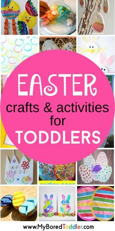 Easter Ideas For Toddlers. Easter Ideas for Toddlers - crafts and activities - fun and easy Easter ideas for 1 year olds, 2 year olds and 3 year olds If you are looking for some great toddler Easter activities, we've found some of the best ones around. Easter Activities For Toddlers, Easter Crafts For Kids, Preschool Crafts, Fun Crafts, Easter Baskets For Toddlers, Activities For 2 Year Olds Daycare, Easter Crafts For Preschoolers, Arts And Crafts For Kids Toddlers, Easter Games For Kids