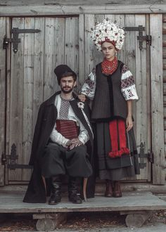 Can't track down where they hail from. Think this is Ukrainian traditional. Photo: Marichka Kvitka.