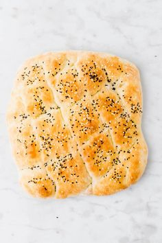 Making your own homemade Turkish Pide Bread is so easy and doesn& even involve kneading. Let me show you how to bake this Turkish bread recipe at home without much effort. Easy Baking Recipes, Easy Cake Recipes, Vegan Recipes, Cooking Recipes, Turkish Pide Bread Recipe, Turkish Recipes, Easy Flatbread Recipes, Sandwich Bread Recipes, Gozleme Recipe