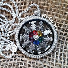All the colors of the wind with Origami Owl!! Legacy Locket carri.origamiowl.com