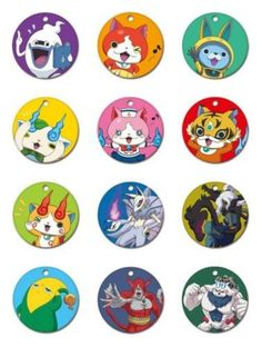 PSL 0916 YO-KAI watch YO-KAI Chara metal 3 1BOX12 pieces all 12 types Japan FS