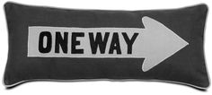 One way pillow