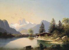 пейзажи горных рек и озер в живописи масло: 18 тыс изображений найдено в Яндекс.Картинках