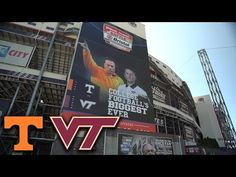 Virginia Tech, Tennessee Ready to Roll In Battle At Bristol - YouTube..This was Beamer's Swan Song.  He worked so hard to sell this idea.....now it's a reality.