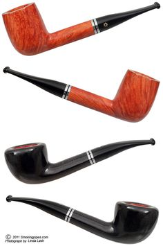 Savinelli Day and Night.  A handsome matched pair of pipes.