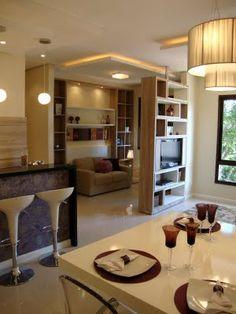 Apartamentos decorados bonito