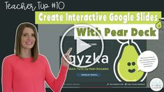 How to use Pear Deck to create interactive Google Slides with students! #vestals21stcenturyclassroom #peardeck #peardeckforstudents #interactivegoogleslides #createinteractivegoogleslides #peardecktutorial #howtousepeardeck #googleslides