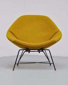 Augusto Bozzi - Saporiti Lounge Chair - 1956.