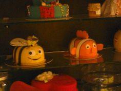 Nemo & bee cakes
