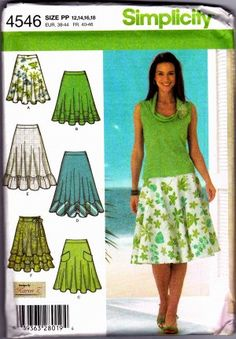 Simplicity #4546 Sewing Pattern