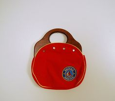 nautical bag wood handles