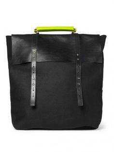8e504ec39bd Leather and Felt Backpack Paul Smith Bag, Backpack Bags, Leather Backpack,  Leather Bags