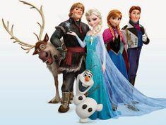Todos los personajes de frozen