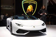 #Lamborghini Huracan Spyder http://www.wintonsworld.com/86th-geneva-international-motor-show-picture-gallery/