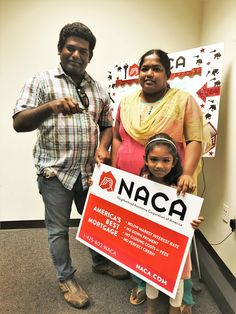 The Ramaiyahs realize their #AmericanDream and get the keys to their new home at NACA's #Philadelphia office! Their great 3% rate means their #NACAPurchase will always be affordable!  #Millennnials 3.159% APR