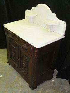 Details About Victorian Antique Queen Size Walnut Bedroom