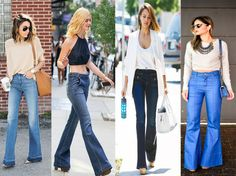 GET THE LOOK: CALÇA FLARE JEANS